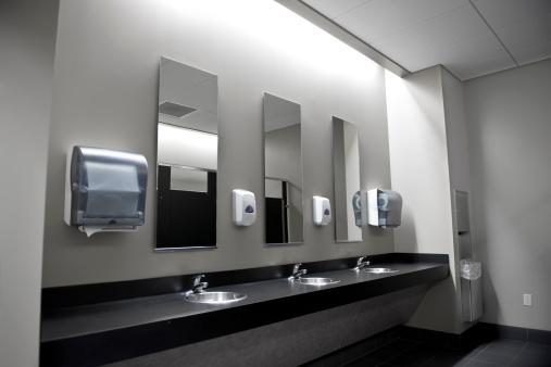 Public Restroom「Restroom Sinks」:スマホ壁紙(10)
