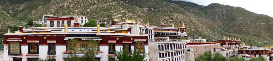 Himalayas「Panorama Drepung monastery, Lhasa, Tibet」:スマホ壁紙(5)