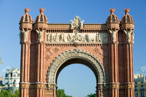Moorish「Spain, Catalonia, Barcelona, Casanovas,  L'Arc de Triumph by Josep Vilaseca」:スマホ壁紙(16)