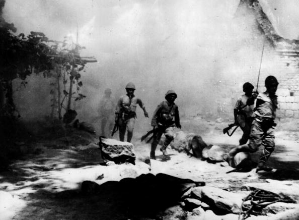 Pacific War「Burning Camp」:写真・画像(13)[壁紙.com]