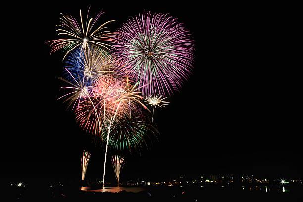 Cyofu city Firework Festival:スマホ壁紙(壁紙.com)