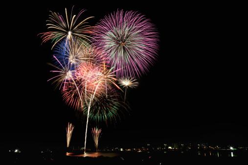 お祭り「Cyofu city Firework Festival」:スマホ壁紙(7)
