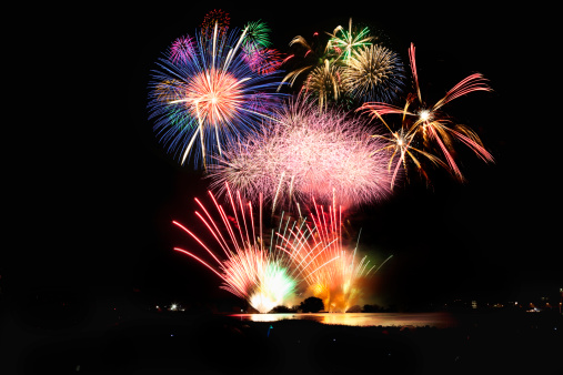 お祭り「Cyofu city Firework Festival」:スマホ壁紙(3)