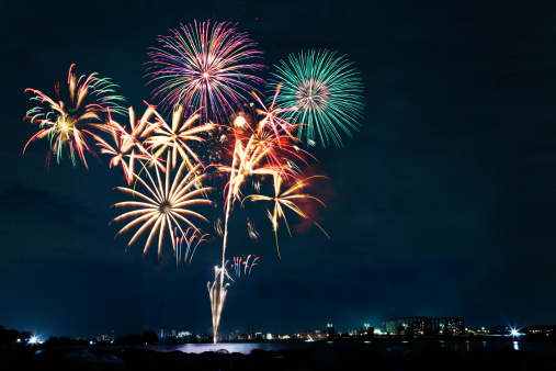 花火「Cyofu city Firework Festival」:スマホ壁紙(16)
