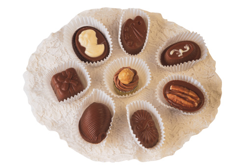 数字の8「Belgian chocolates」:スマホ壁紙(16)