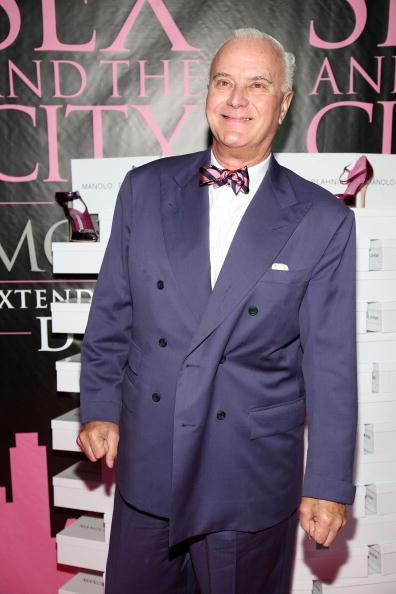 "Manolo Blahnik - Designer Label「DVD Launch Celebration For ""Sex And The City: The Movie"" - Arrivals」:写真・画像(12)[壁紙.com]"