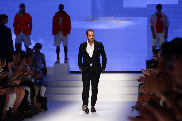Open Collar「Salvatore Ferragamo - Runway - MFW S/S 2014」:写真・画像(5)[壁紙.com]