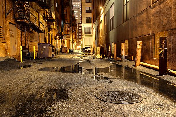 Dark Urban Road:スマホ壁紙(壁紙.com)