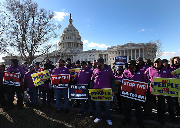 Part Of「Union Organizers In Washington, D.C. Hold Rallies Calling For End To Government Shutdown」:写真・画像(4)[壁紙.com]