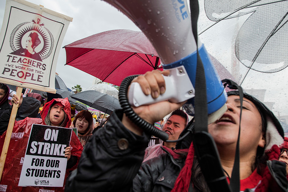 City Of Los Angeles「Los Angeles Teachers Go On Strike」:写真・画像(12)[壁紙.com]