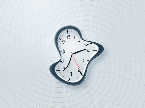 Dizzy「Distorted clock on the wall with vortex pattern」:スマホ壁紙(8)