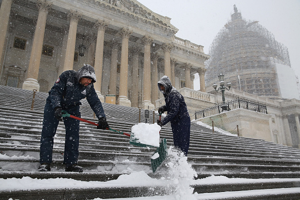 New「Winter Storm Brings Cold Weather And Snow To Eastern U.S.」:写真・画像(6)[壁紙.com]