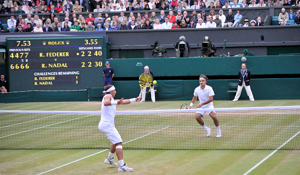 Wimbledon Lawn Tennis Championships「Wimbledon Tennis Championships Mens Final 2008」:写真・画像(3)[壁紙.com]