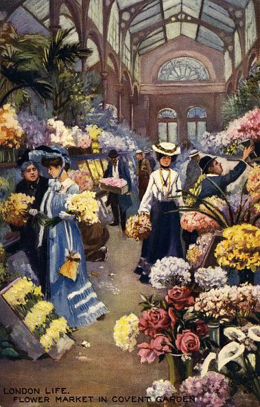 City Life「Covent Garden flower market」:写真・画像(1)[壁紙.com]