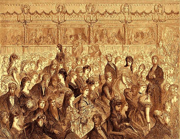 Covent Garden opera house  by Doré:ニュース(壁紙.com)