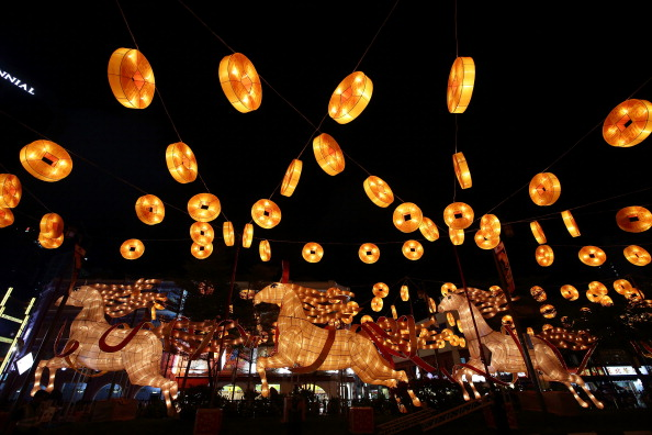 Chinese Lantern「China Town Lights Up For Chinese New Year」:写真・画像(5)[壁紙.com]