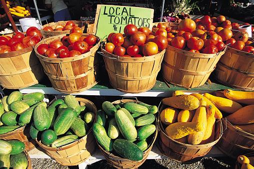 Long Island「Baskets with fresh produce」:スマホ壁紙(7)