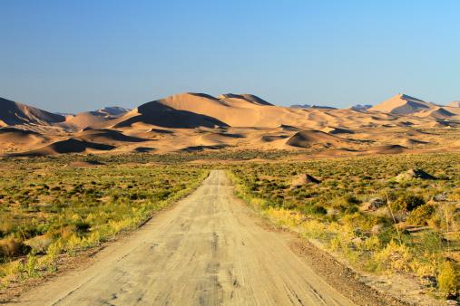 アウバリ砂海「Desert in Inner Mongolia」:スマホ壁紙(19)