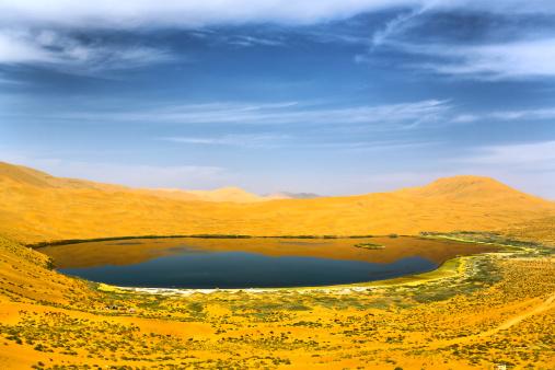 アウバリ砂海「Desert in Inner Mongolia」:スマホ壁紙(15)