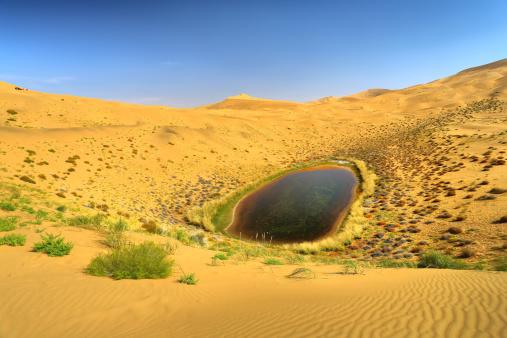 アウバリ砂海「Desert in Inner Mongolia」:スマホ壁紙(0)