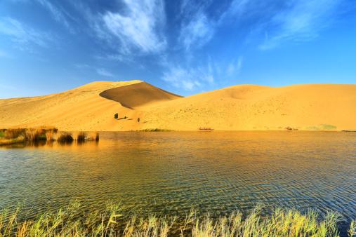 アウバリ砂海「Desert in Inner Mongolia」:スマホ壁紙(14)