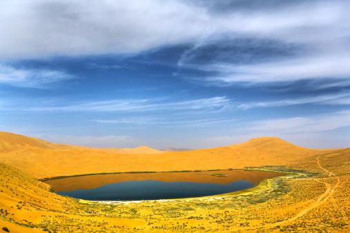 アウバリ砂海「Desert in Inner Mongolia」:スマホ壁紙(13)