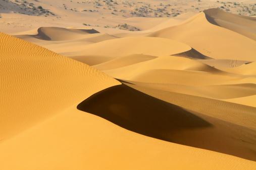 アウバリ砂海「Desert in Inner Mongolia」:スマホ壁紙(18)
