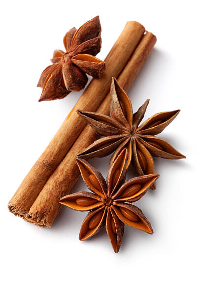 Dried Herbs and Spices: Cinnamon, Anise:スマホ壁紙(壁紙.com)