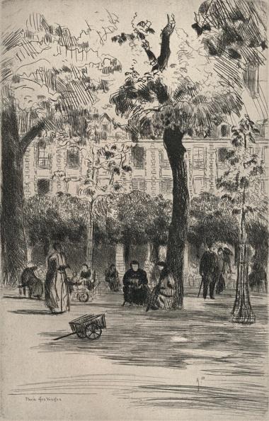 葉・植物「'Place des Vosges', 1915」:写真・画像(15)[壁紙.com]