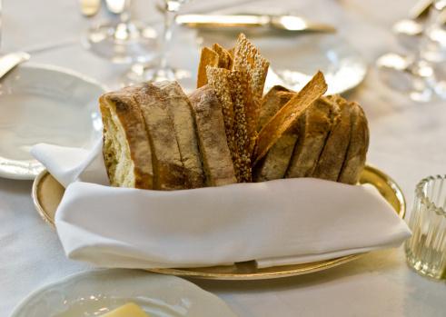 Napkin「Dinner basket of bread and crackers」:スマホ壁紙(8)
