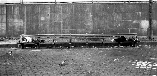 Bench「Homeless In New York」:写真・画像(2)[壁紙.com]