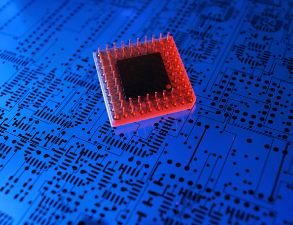 静物「Integrated Circuit, Film-Layout of a Printed Circuit Board」:写真・画像(12)[壁紙.com]
