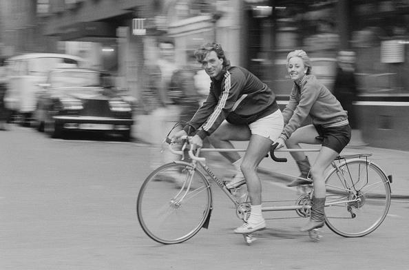 Black And White「Shirlie Holliman and Martin Kemp」:写真・画像(1)[壁紙.com]
