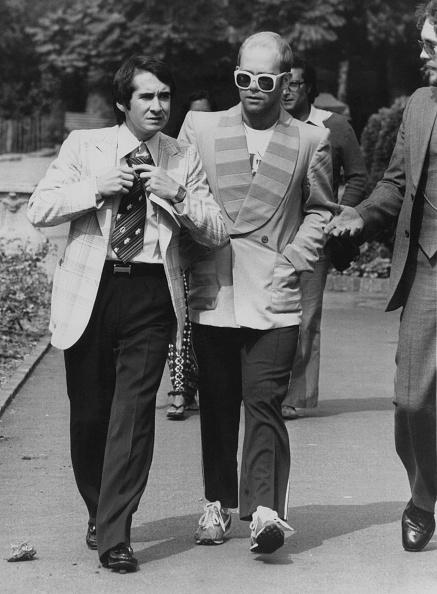 1976「Elton John And Manager」:写真・画像(9)[壁紙.com]