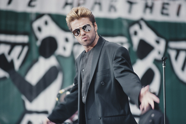 Singer「George Michael Performs At Mandela Tribute Concert」:写真・画像(3)[壁紙.com]