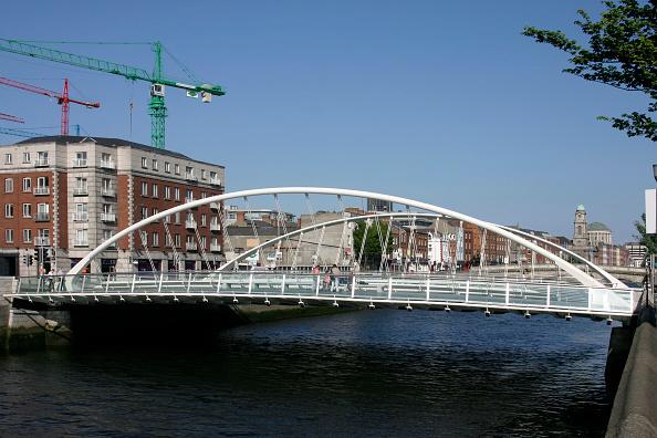 アイルランド リフィー川「James Joyce Bridge and River Liffey, Dublin, Ireland」:写真・画像(15)[壁紙.com]