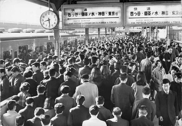 Showa Period「Tokyo Commutors」:写真・画像(7)[壁紙.com]