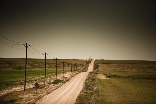 Kansas「Rural Dirt Road」:スマホ壁紙(10)