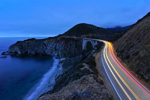 Bixby Creek Bridge「Highway 1 at Big Sur」:スマホ壁紙(5)