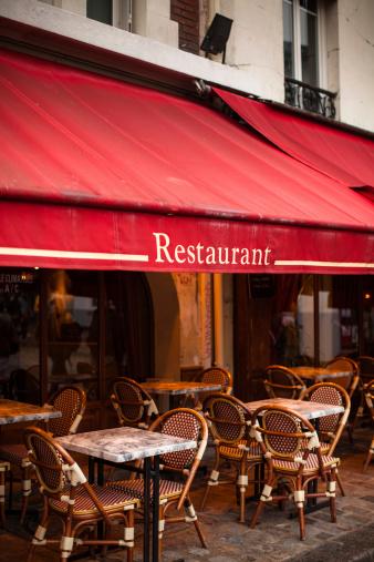 Sidewalk Cafe「Outdoor Restaurant in Paris」:スマホ壁紙(8)