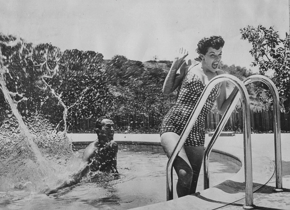 Hollywood - California「Jane Russell And Robert Ryan」:写真・画像(1)[壁紙.com]