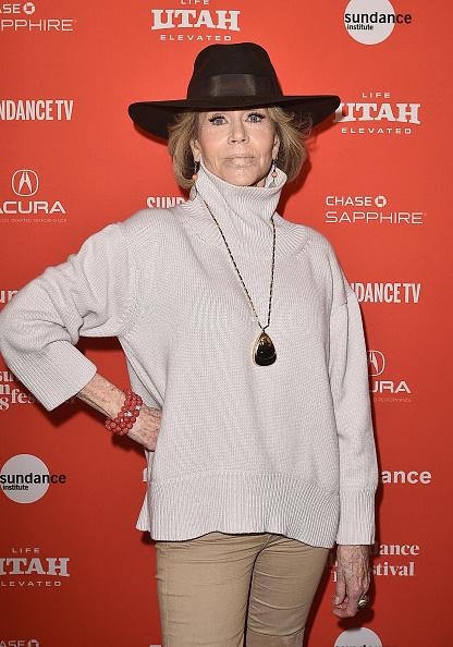 "Sundance Film Festival「2018 Sundance Film Festival - ""Jane Fonda In Five Acts"" Premiere」:写真・画像(2)[壁紙.com]"