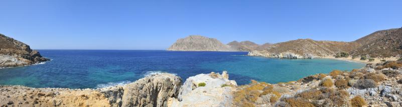 パトモス島「Psili Ammos Beach」:スマホ壁紙(7)