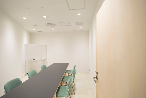 East Asia「Simple small meeting room.」:スマホ壁紙(12)