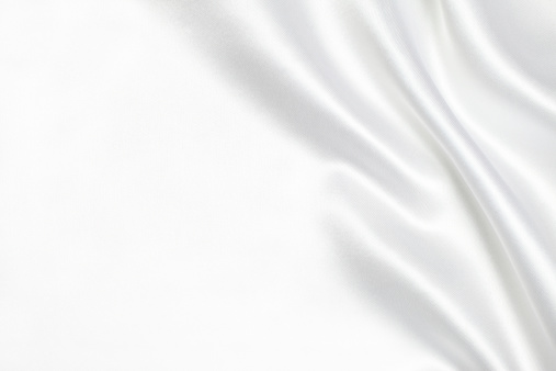 Silk「White silk fabric background」:スマホ壁紙(3)
