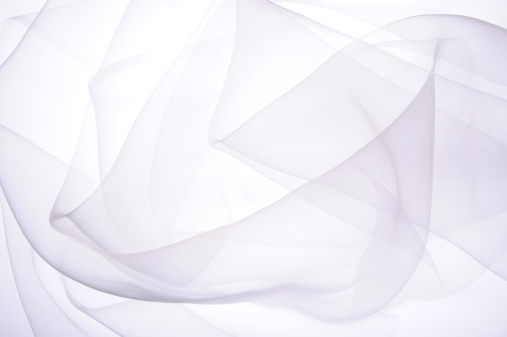Abstract Backgrounds「White silk」:スマホ壁紙(2)