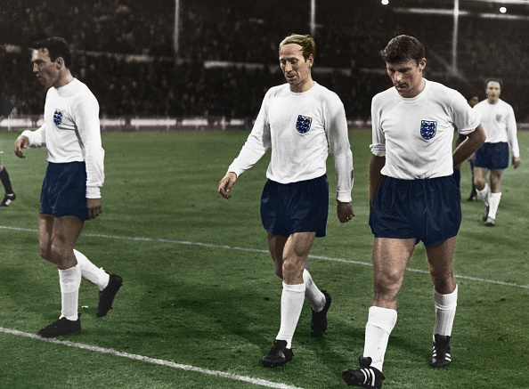 Soccer Uniform「England Vs Mexico During The 1966 World  Cup, Wembley Stadium, London, 1966」:写真・画像(11)[壁紙.com]
