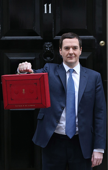 Corporate Business「The Chancellor George Osborne Prepares To Give His Budget To Parliament」:写真・画像(5)[壁紙.com]
