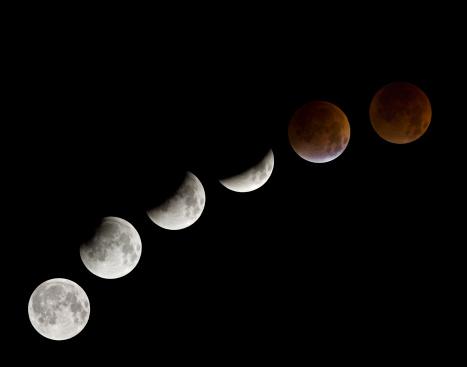 Moon「Total lunar eclipse, 28 August 2007」:スマホ壁紙(6)