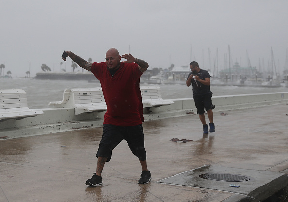Corpus Christi - Texas「Texas Gulf Coast Braces For Hurricane Harvey」:写真・画像(13)[壁紙.com]